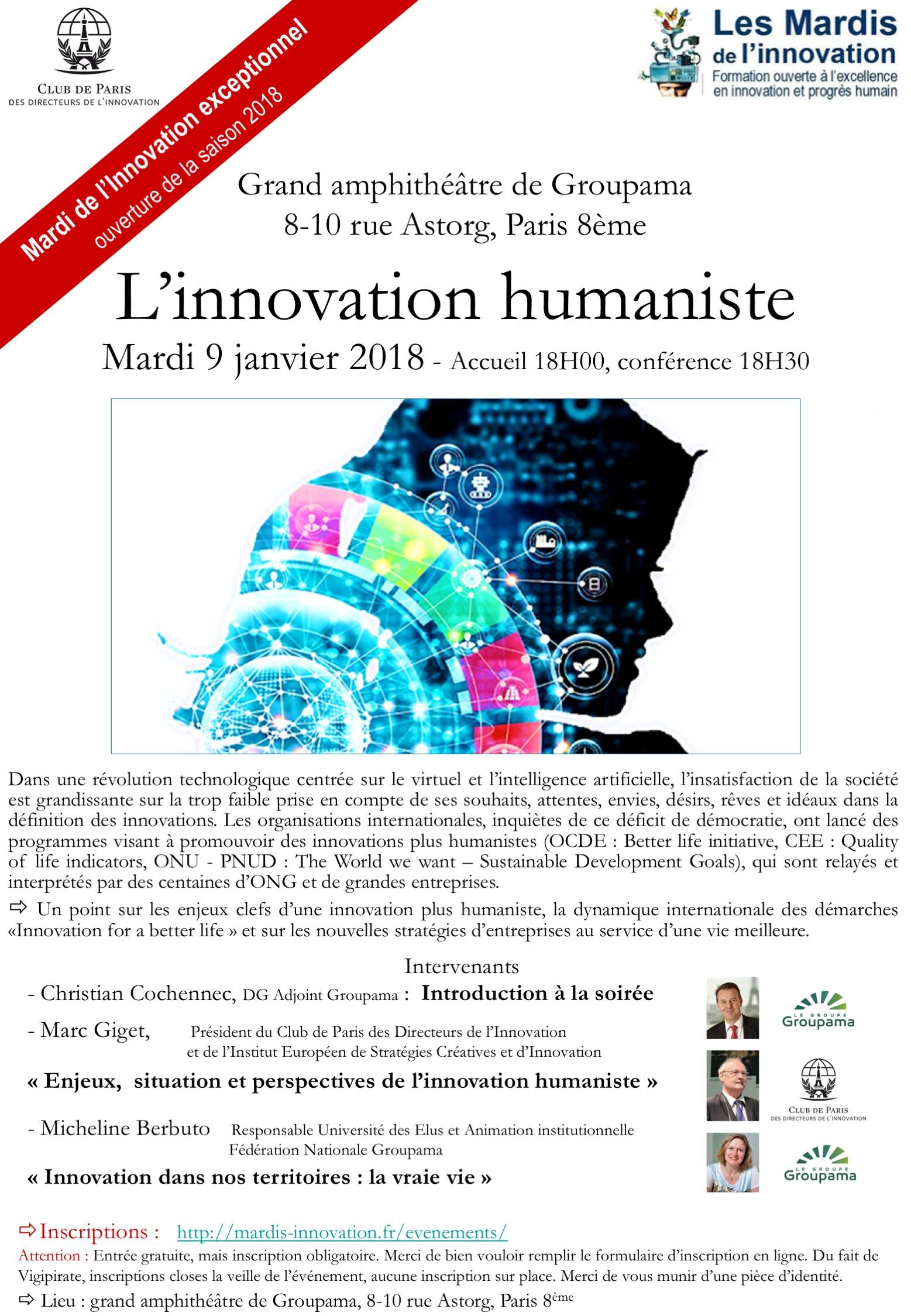 Annonce Mardi Inno humanisme