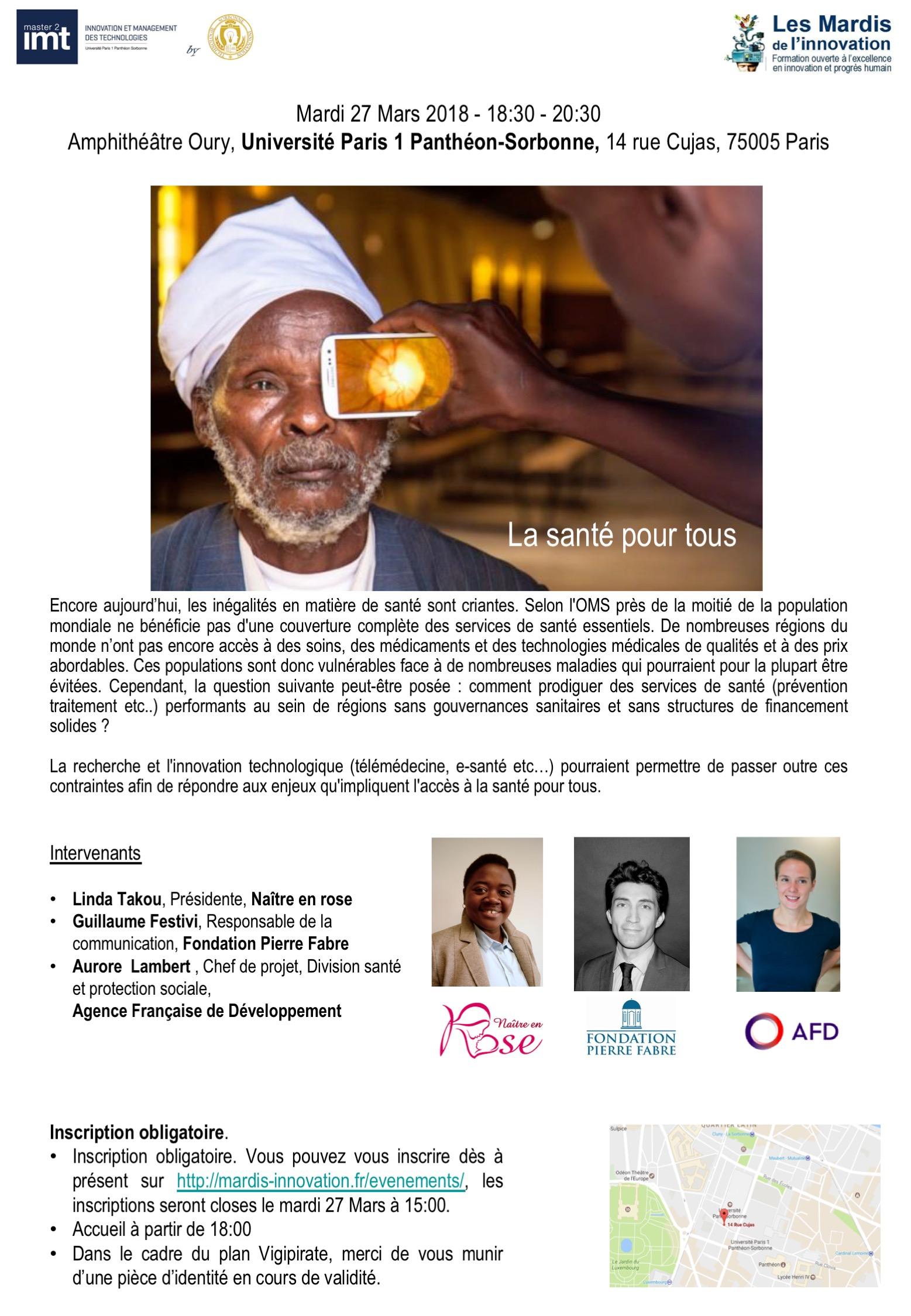 Prog Mardis Innovation - Santé pour tous - 27 mars 2018 v3