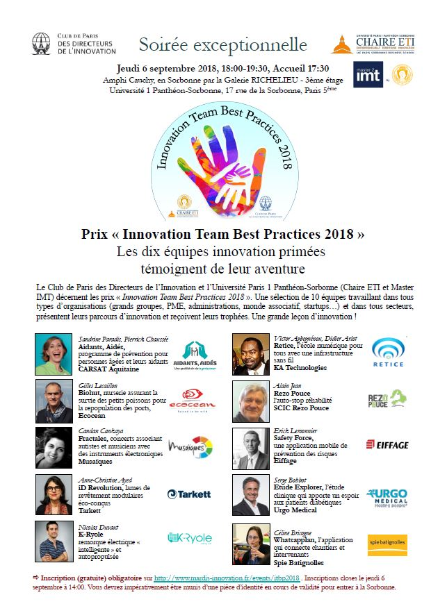 Programme ITBP 2018