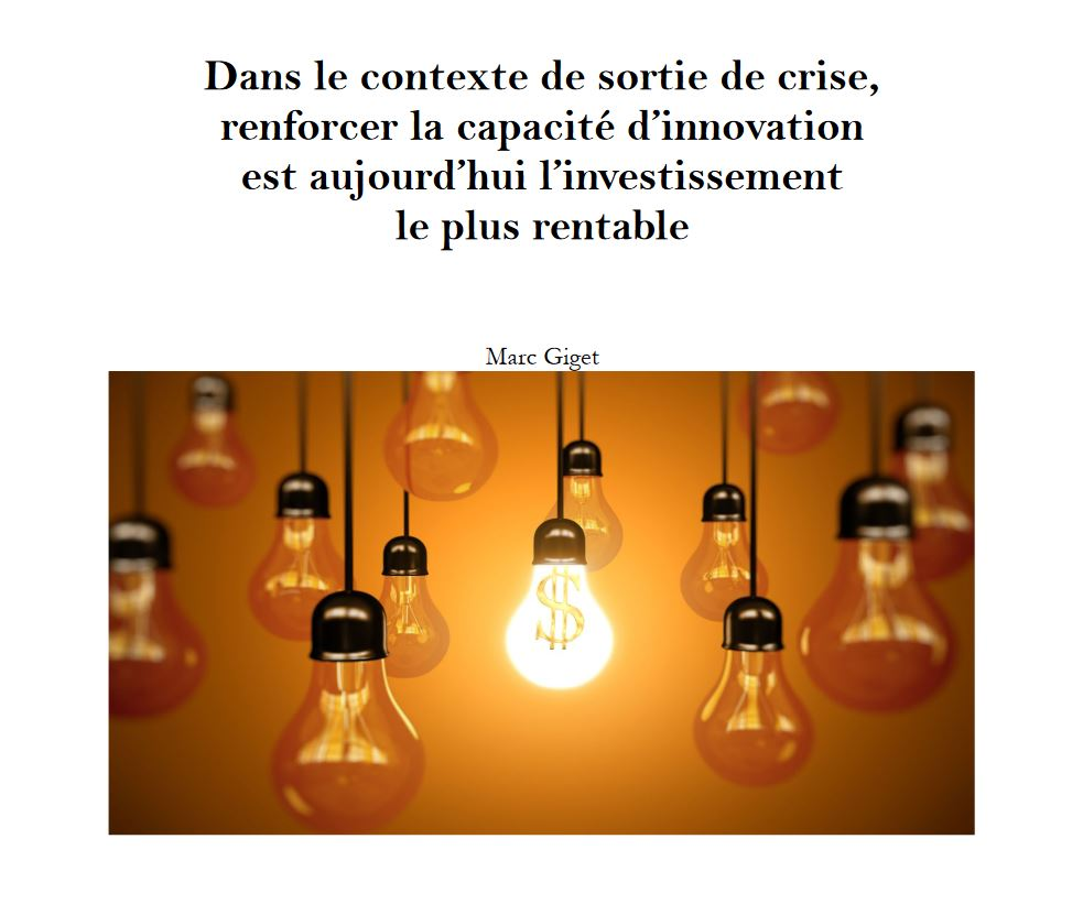 Innovation Investissement rentable