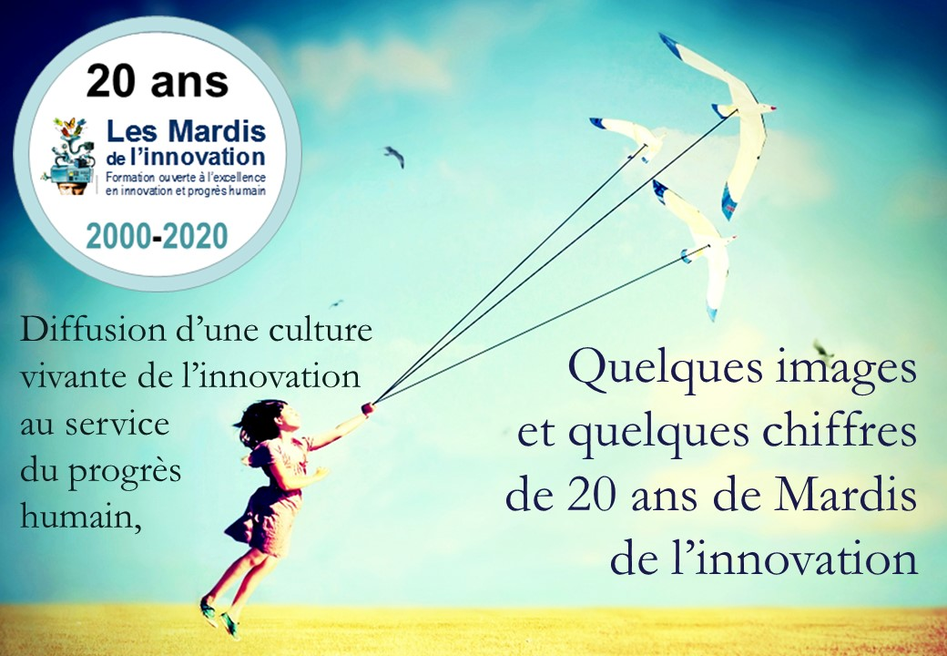 20 ans Mardis de l'innovation 2000-2020