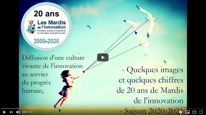 Vidéo Mardis de l'innovation-20 ans